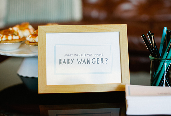 A Bright Modern Baby Shower For Margaux Max