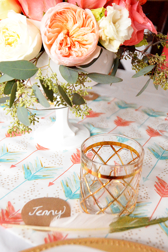 A Bohemian Baptism Party For Chloe