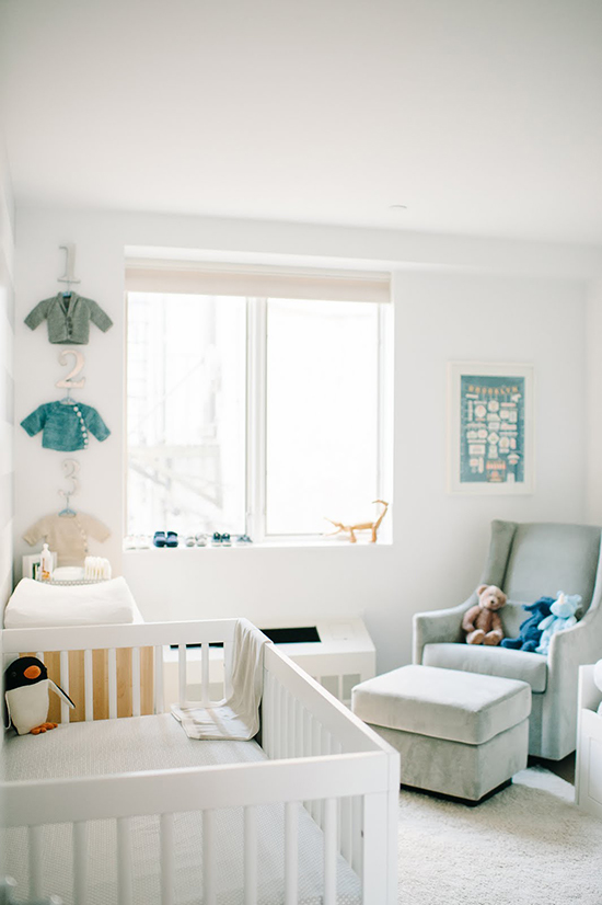 A modern brooklyn nursery and newborn shoot family for Simple nursery design
