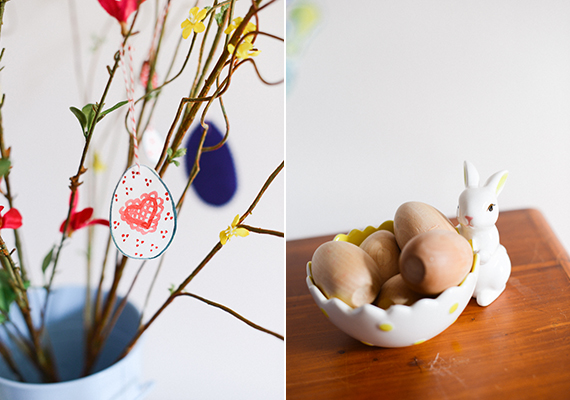 DIY Easter Tree from Bibliosophy Handmade | 100 Layer Cakelet