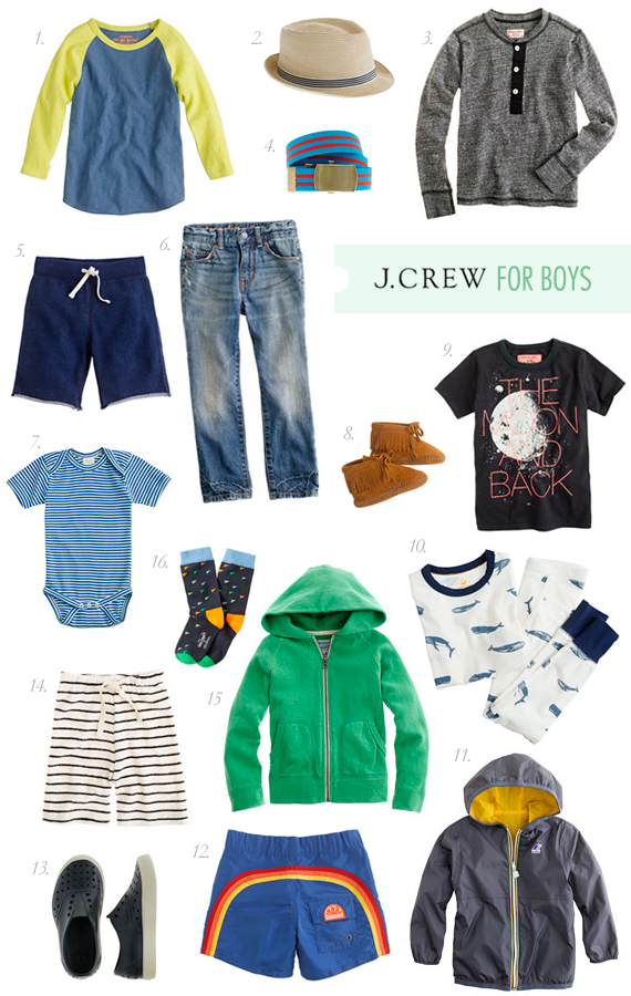 J. Crew boys for spring + giveaway on 100 Layer Cakelet