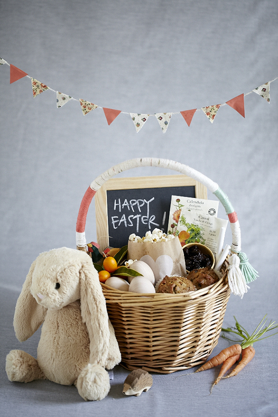 Natural Easter basket ideas