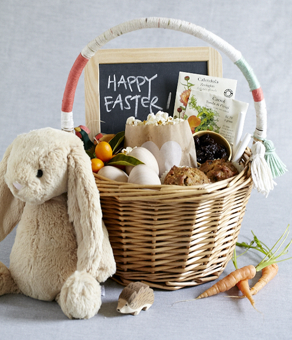 Natural Easter basket idea