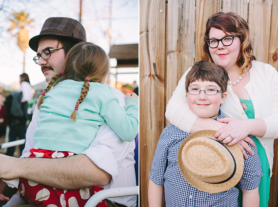 Retro 50's family photos | Ashlee Newman | 100 Layer Cakelet
