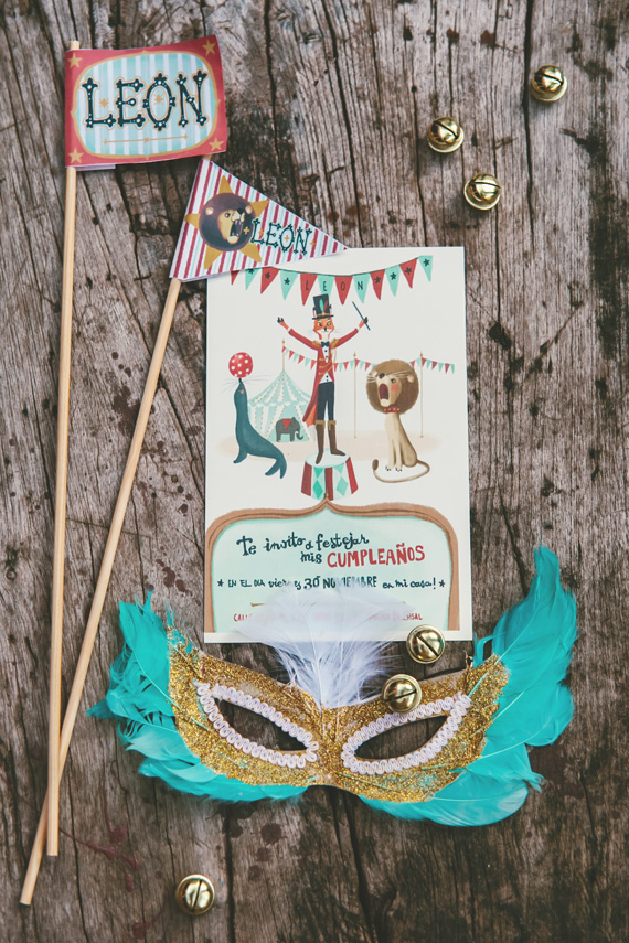 Circus birthday party in Mexico | Studio A + Q | 100 Layer Cakelet