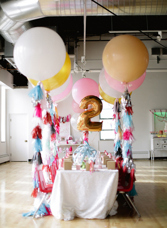 Girly 2nd birthday party | Ashley Nicole Events | 100 Layer Cakelet