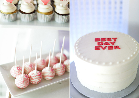 Second birthday party desserts | Ashley Nicole Events | 100 Layer Cakelet