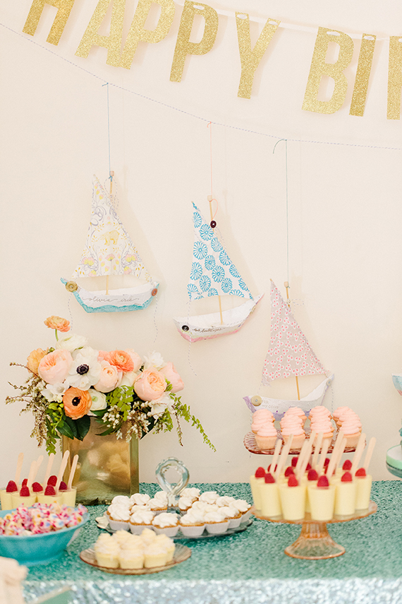 Sea-themed 1st Birthday Party | Love & Splendor | 100 Layer Cakelet