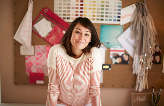 Creative Moms: Chelsea Shukov of Sugar Paper LA | 100 Layer Cakelet