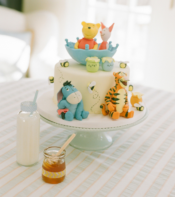 Winnie The Pooh Baby Shower Baby Showers 100 Layer Cakelet