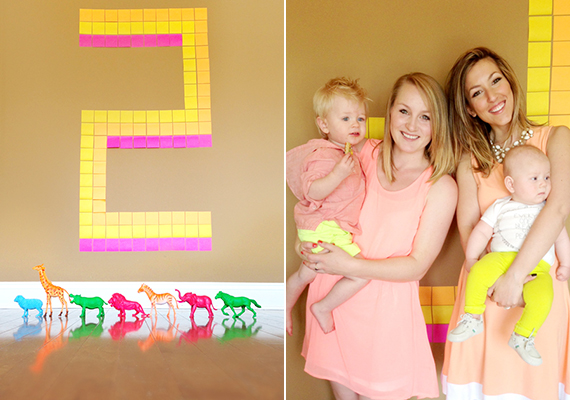 Lennon's neon 2nd birthday   Simply Bloom Photography   100 Layer Cakelet