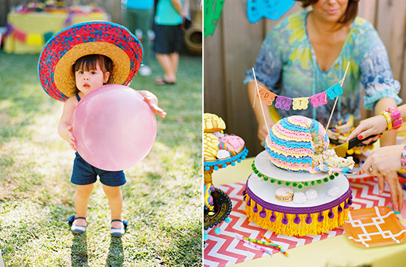Dotty's 3rd birthday fiesta by Bows & Arrows | 100 Layer Cakelet