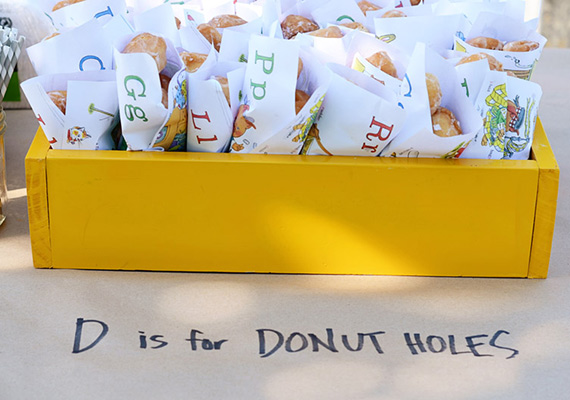 Donut party favors  | 100 Layer Cakelet