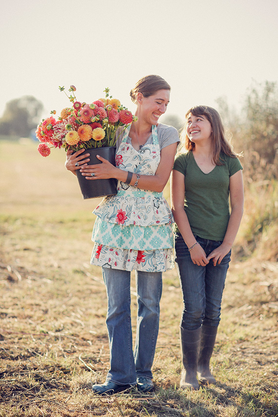 Inspiring Mom: Erin Benzakein of Floret | Michele M. Waite | 100 Layer Cakelet