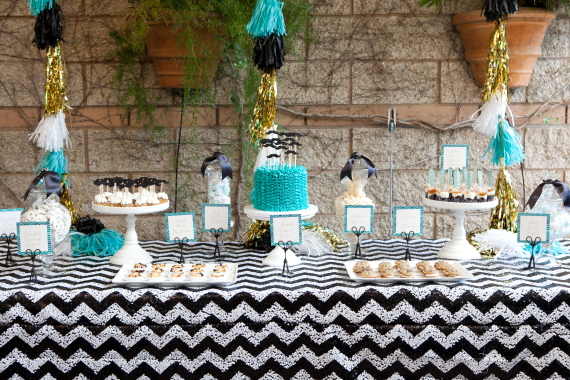 Moustache-themed boy's baby shower | 100 Layer Cakelet