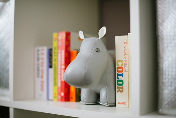 Modern S Nursery Delbarr Moradi 100 Layer Cakelet Menagerie Bookends