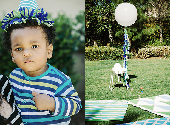 Pajama Party 1st birthday by Simply Modern Weddings | 100 Layer Cakelet