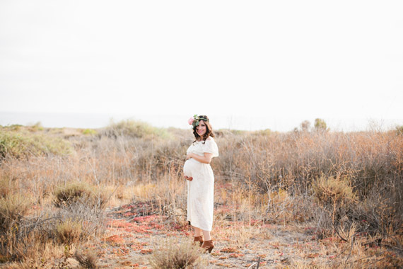 Eva Marie's Spanish-style maternity photos | Megan Welker | 100 Layer Cakelet