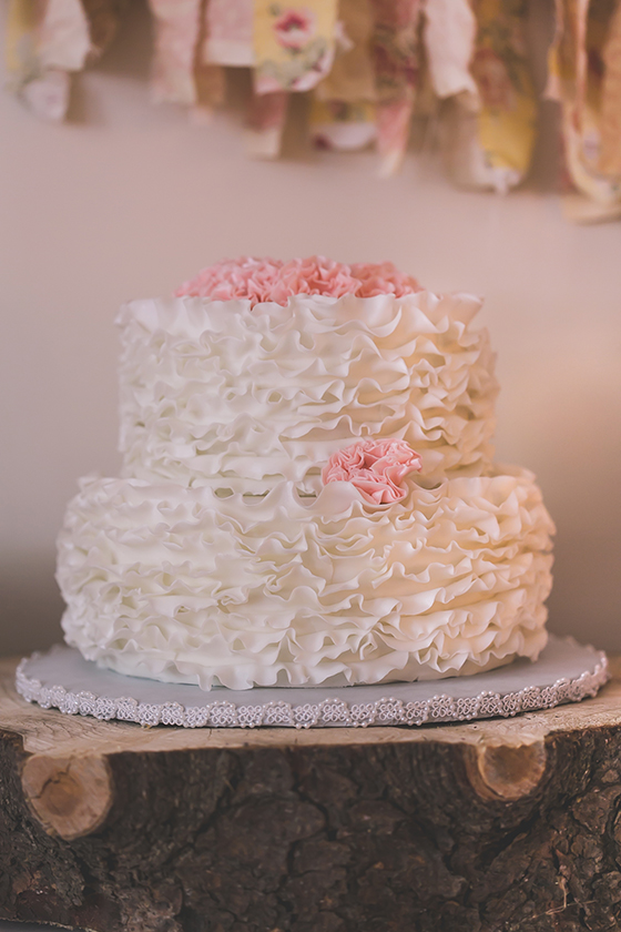 Shabby Chic baby shower | 100 Layer Cakelet