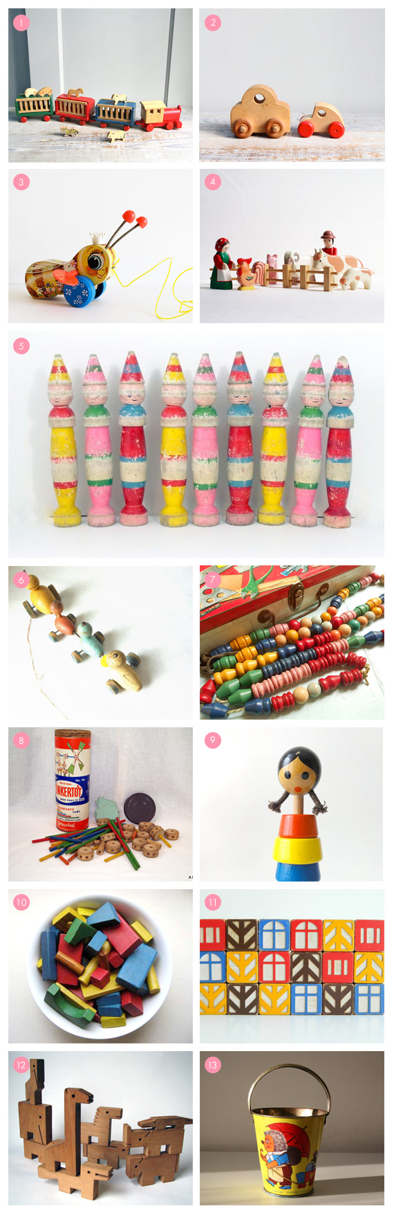 Vintage toys on Etsy | 100 Layer Cakelet