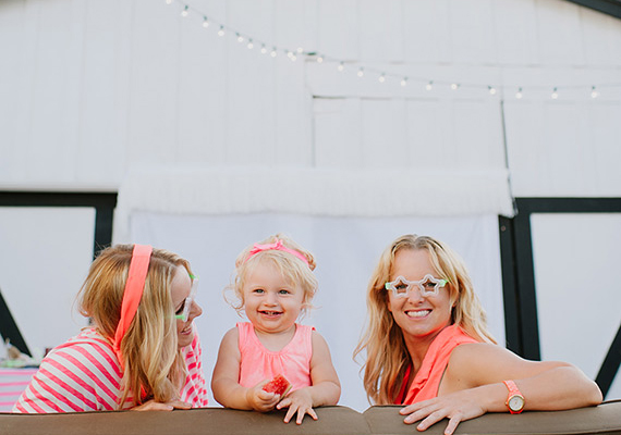 Summer Family movie night   Styling by Jesi Haack Design   Photos by Jack and Lola Photography