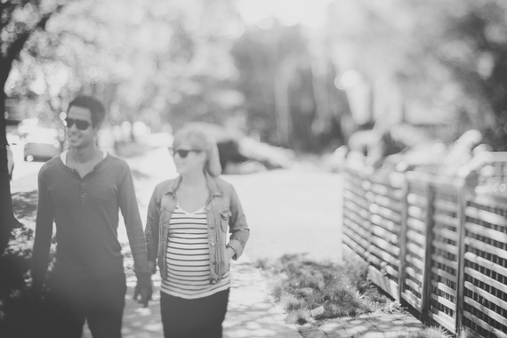 A neighborhood maternity session in Vancouver by Blue Window Creative | 100 Layer Cakelet