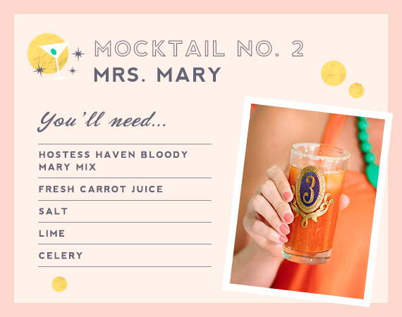 Bloody Mary mocktail from Mrs. Lilien and The Hostess Haven | 100 Layer Cakelet