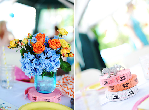 Carnival-themed baby shower | 100 Layer Cakelet