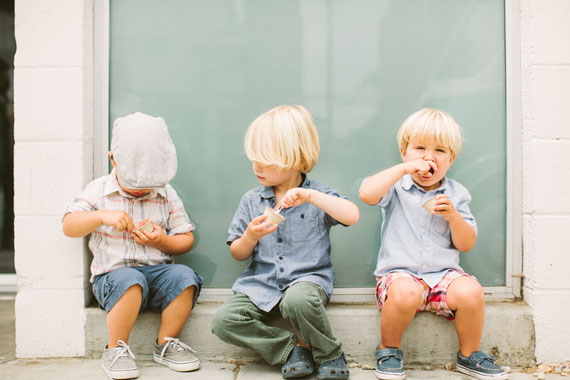 Ice cream outing with Ergobaby | Rebecca Fishman | 100 Layer Cakelet