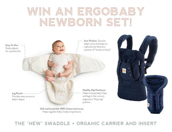 Ergobaby newborn set giveaway on 100 Layer Cakelet