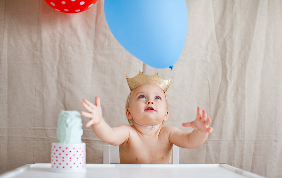 Keats 1st birthday celebration | charleystar | 100 Layer Cakelet