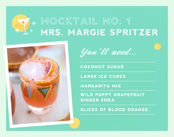 Margarita mocktail from Mrs. Lilien and The Hostess Haven | 100 Layer Cakelet