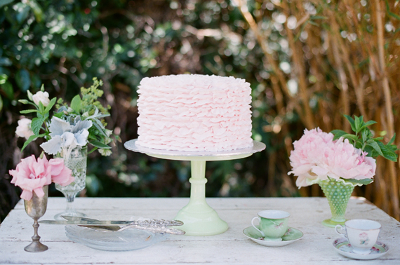 Garden tea party birthday | Art with Nature Design | 100 Layer Cakelet
