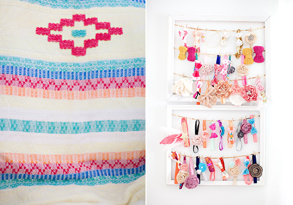Mexico-inspired baby girl nursery | Eva Marie Photo | 100 Layer Cakelet