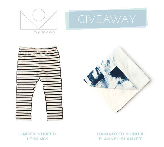 My Moon SF | Baby leggings and indigo blanket giveaway | 100 Layer Cakelet