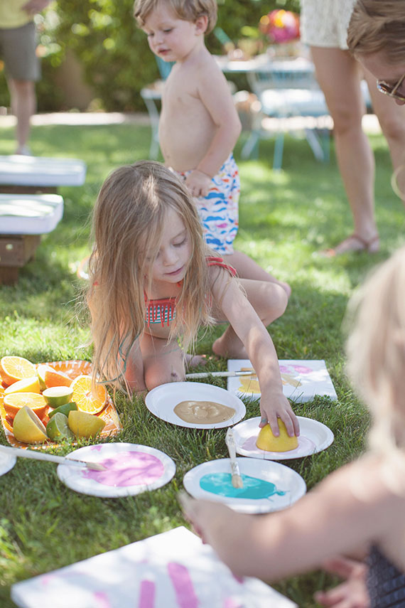 End of the summer kid's craft party | Beijos Events | 100 Layer Cakelet