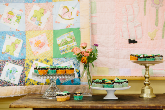 Veggie garden and ice cream baby shower | 100 Layer Cakelet