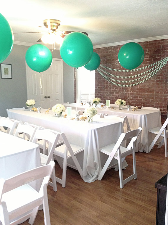 Mint and white boy's baby shower | Baby Showers | 100 ...