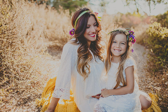 Mother-daughter maternity photos | Wild Whim Design | 100 Layer Cakelet