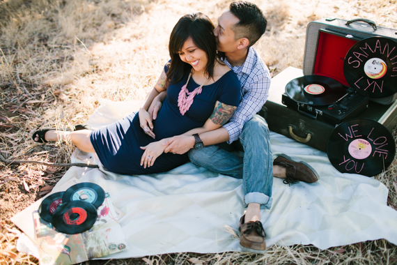 Old school maternity session by Joe and Kathrina | 100 Layer Cakelet