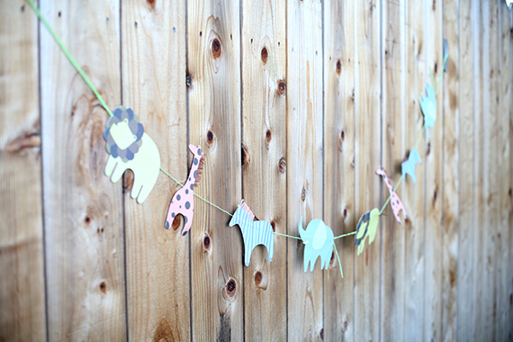 Animal parade 1st birthday | Land of Nod party decor kids | 100 Layer Cakelet