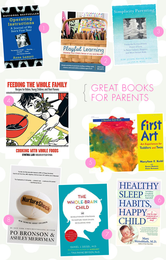 8 great books for parents | 100 Layer Cakelet