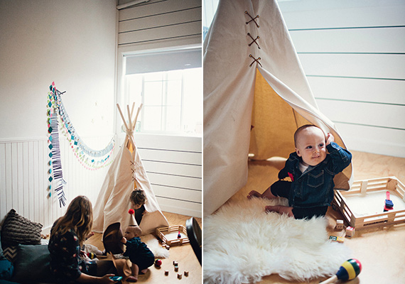 Camp-themed first birthday party | Lightness Creative | 100 Layer Cakelet