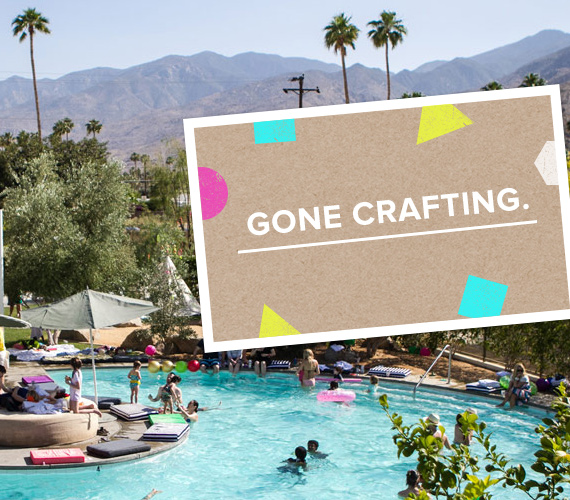 Crafting Community 2013 at the Ace Hotel Palm Springs | 100 Layer Cakelet