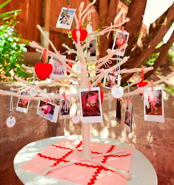 Christmas Themed 1st Birthday Party.Heart Themed 1st Birthday For Reese Kids Birthday Parties 100