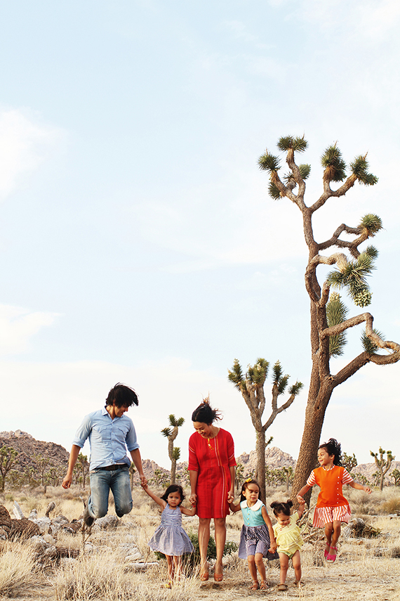 Joshua Tree family photos by Kimberly Genevieve | 100 Layer Cakelet