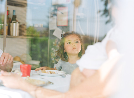 Family photos at home with Wakako and Frido of Baum Kuchen | Erin Hearts Court | 100 Layer Cakelet