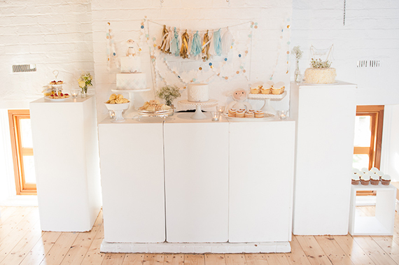 Modern Melbourne baby shower by Cake Ink | 100 Layer Cakelet