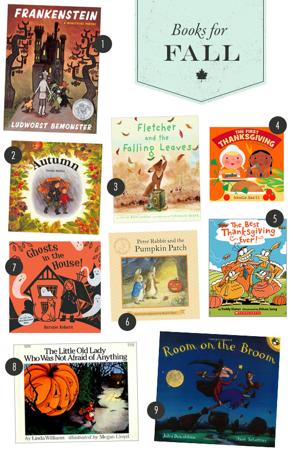 Our favorite books for fall | 100 Layer Cakelet