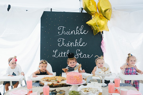 Twinkle twinkle little star party by 6th Street Design School | 100 Layer Cakelet
